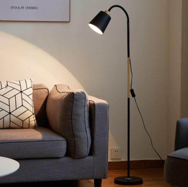 【Ogula】北歐創意客廳臥室書房LED閱讀落地立燈