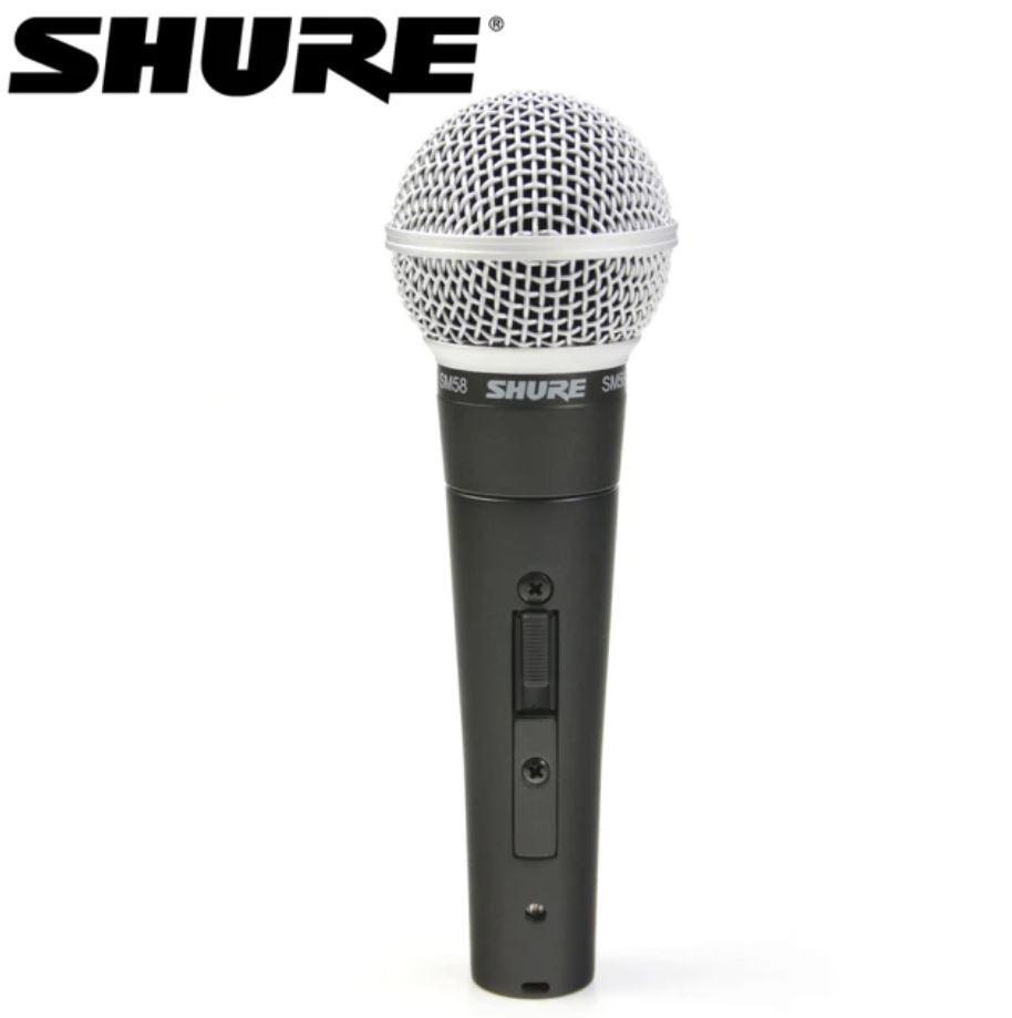 【SHURE】SM58S 動圈式麥克風