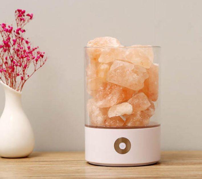 【WIDE VIEW】喜馬拉雅水晶玫瑰鹽燈