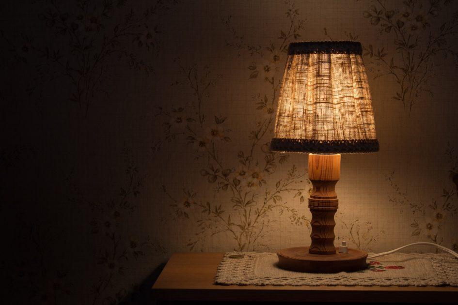 床頭燈檯燈式